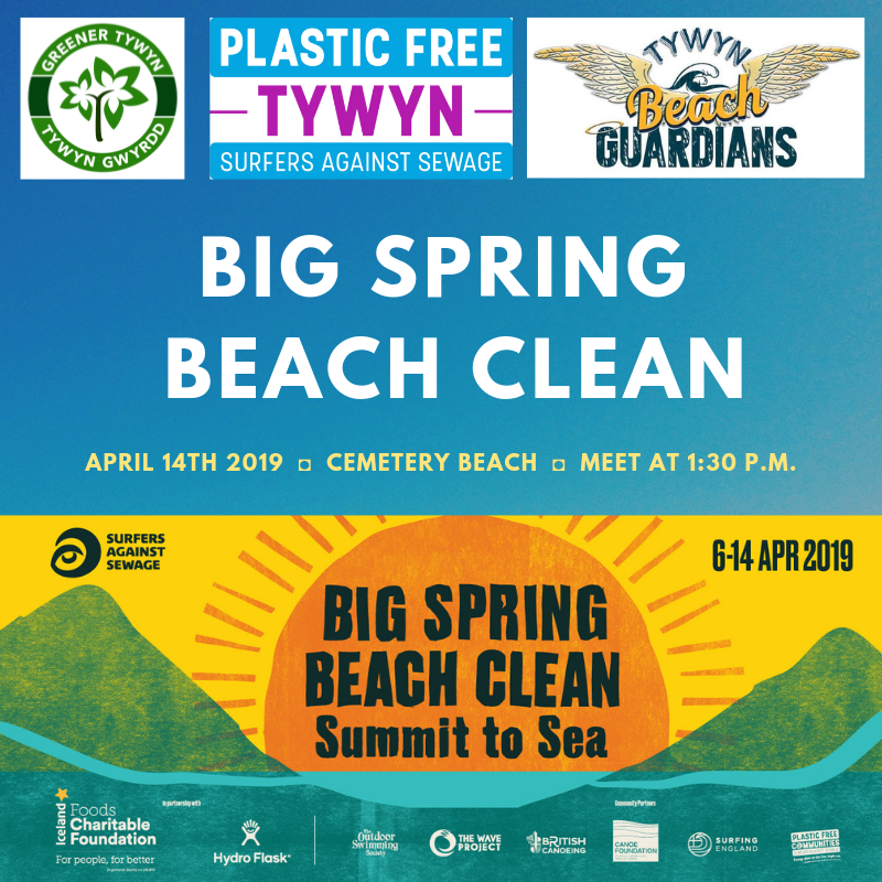 Join us for the Big Spring Beach Clean 2019!