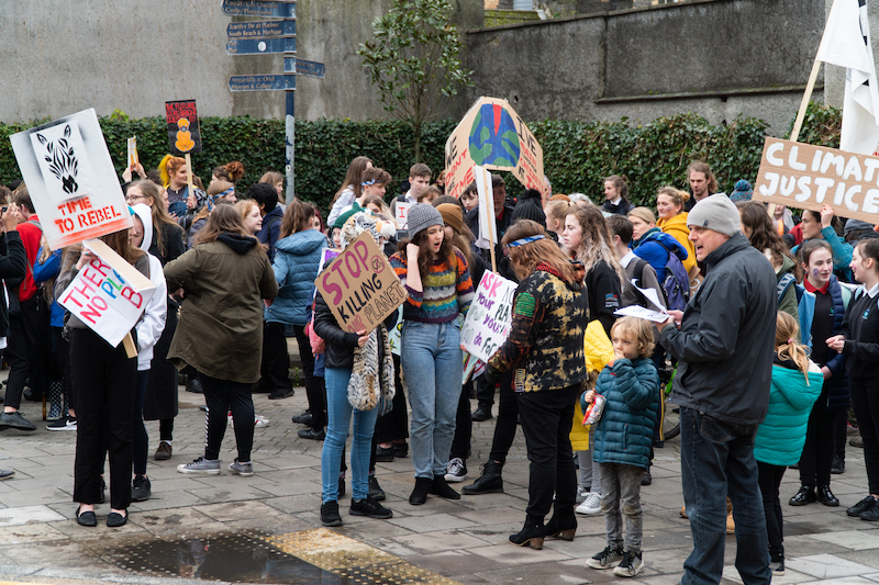 fridays for future climate strike