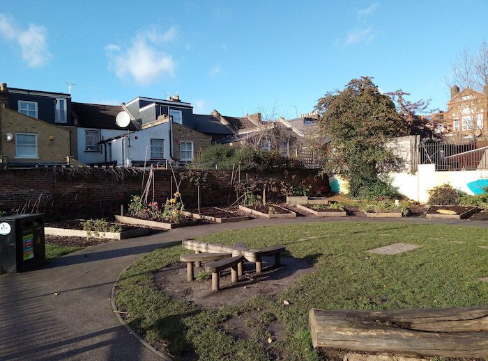 Visiting Community Gardens and Field Research for Green Spaces in Tywyn